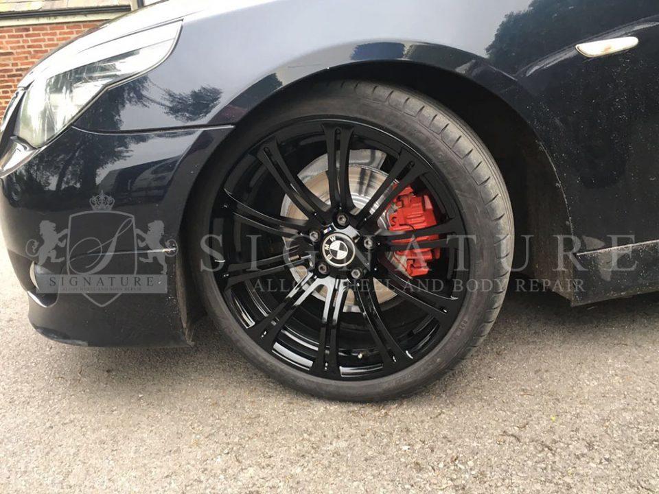 alloy wheel repair bmw manchester