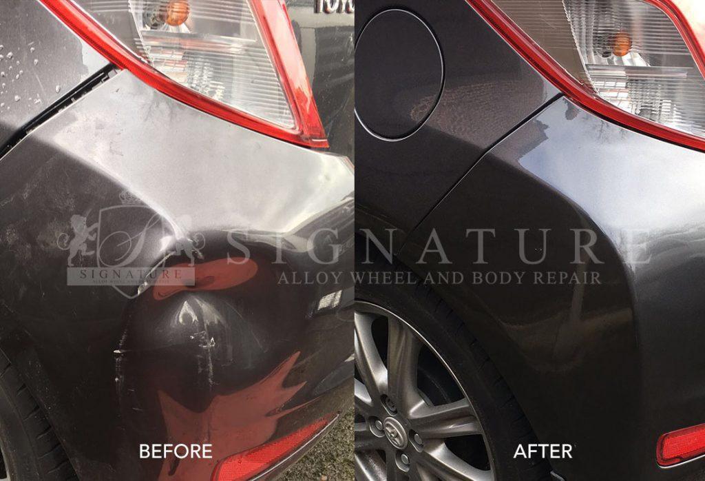 car body repairs preston